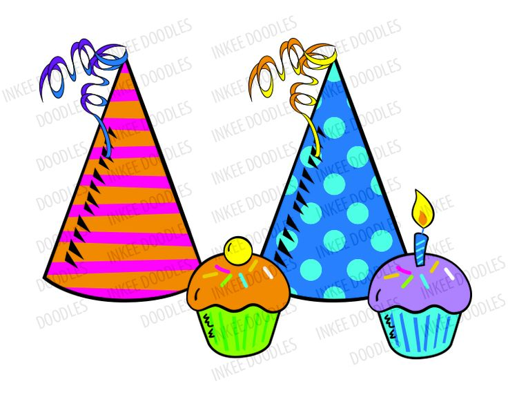 736x588 Gift Clipart Birthday Hat