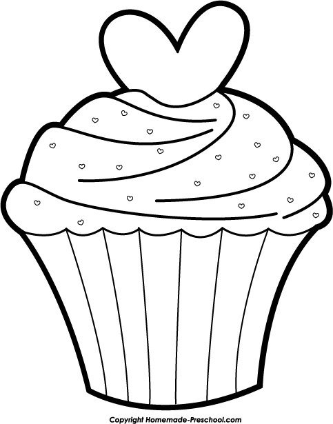 483x615 Cake black and white birthday cake black and white clipart