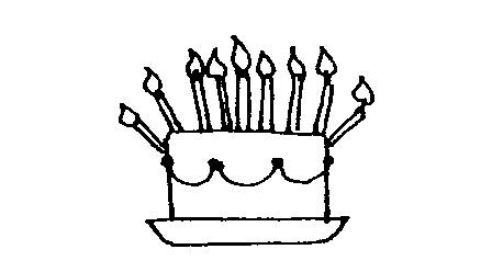 448x248 Cake black and white birthday cake clip art black and white