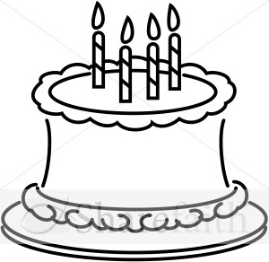 300x292 Happy birthday cake clipart Clipart Panda
