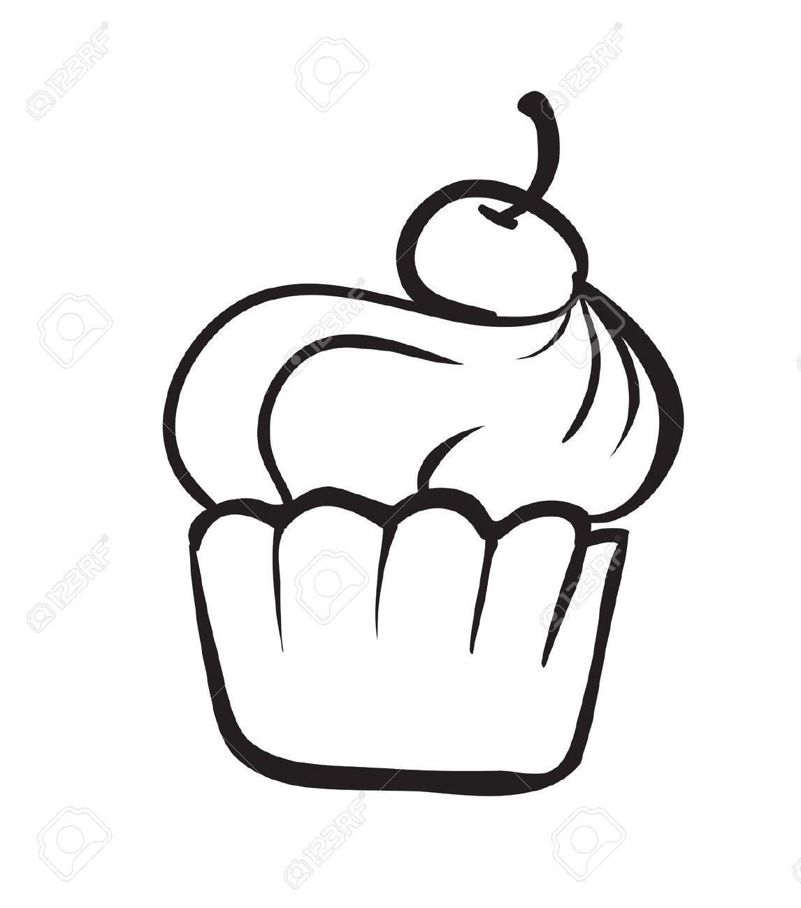 1146x1300 Slice Of Cake Clipart Black And White