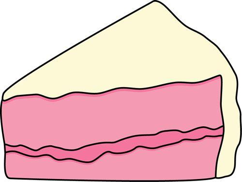 500x376 Cake Clipart Slice