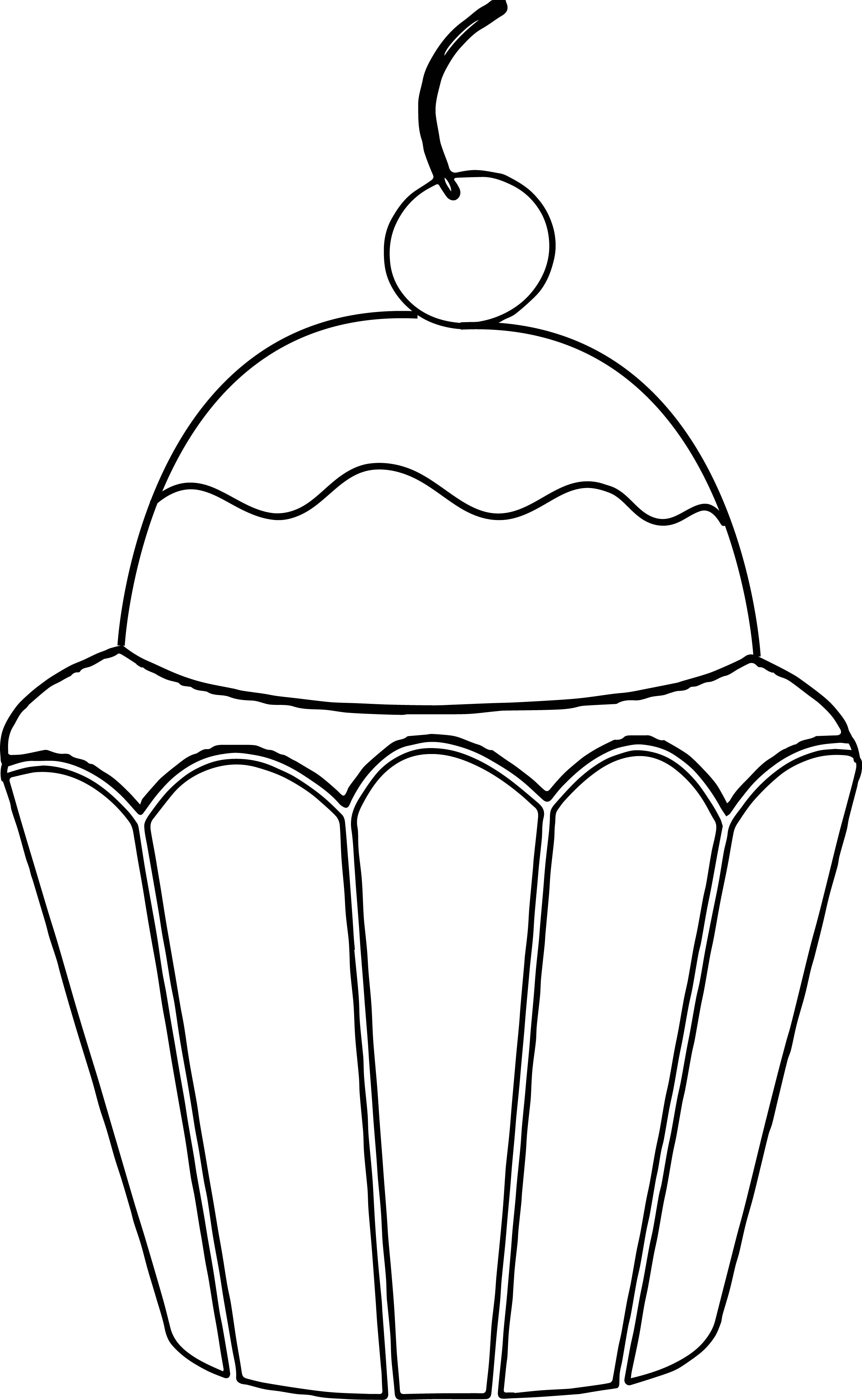 2456x3990 Image of Birthday Clipart Black and White
