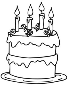 236x301 Pictures Slice Of Cake Birthday Coloring Pages Spanish This