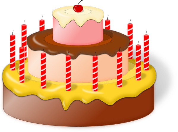 600x446 Cake Clip Art