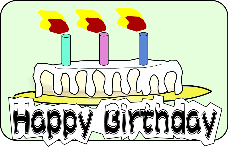 800x515 Free Birthday Cake Clipart