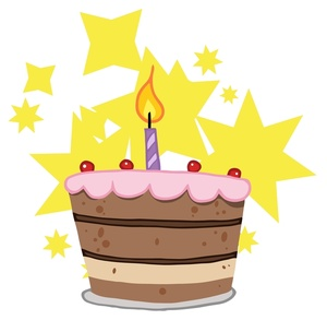 300x293 Free First Birthday Clip Art Image