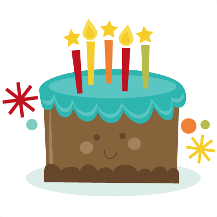 432x432 Happy Birthday Cake Clip Art Png Vector And Pictures
