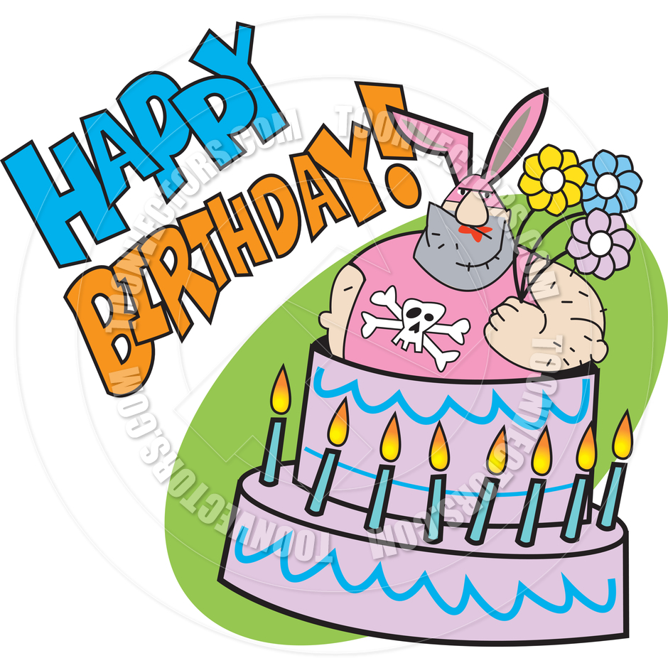 940x940 Happy Birthday Cake Clipart Guys