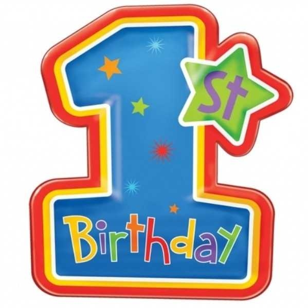 599x600 Top 10 1st Birthday Cake Clip Art