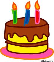 183x209 Birthday Cake Free Clip Art