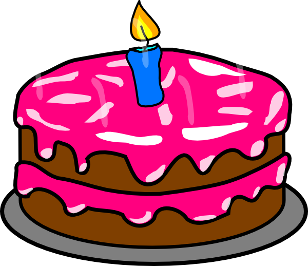 600x518 Cake Clipart 2 Candle