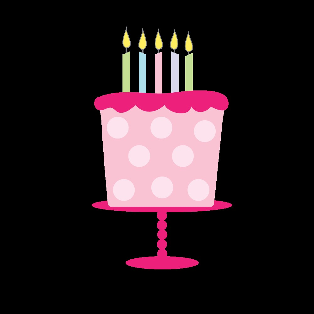 1000x1000 Free Animated Birthday Cake Clipart