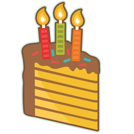 432x432 Piece Of Birthday Cake Clip Art Cliparts