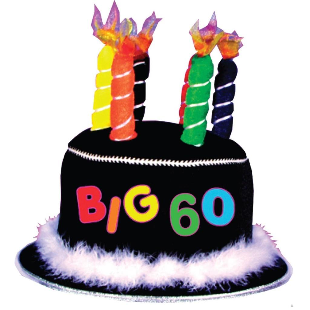 1024x1024 60th Birthday Clip Art