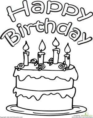 301x381 215 Best Coloring Cake's Images Drawings, Children
