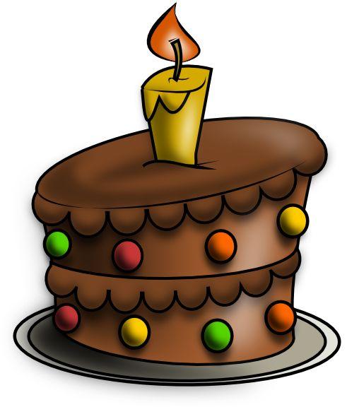 491x576 Drawn Cake Bday Cake