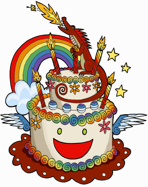 500x635 Cool Birthday Cake Drawing Concept Best Birthday Quotes Wishes