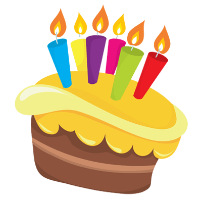400x400 Birthday Cake Drawing Blue Transparent Png