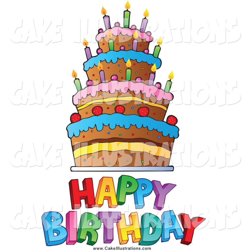 1024x1044 Clipart Happy Birthday Cake