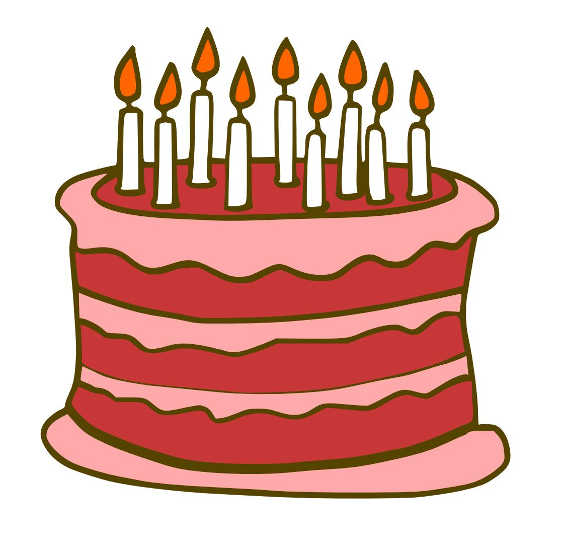 1117x1103 Happy Birthday Cake Clip Art
