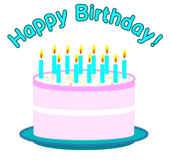 586x555 Happy Birthday Cake Clipart