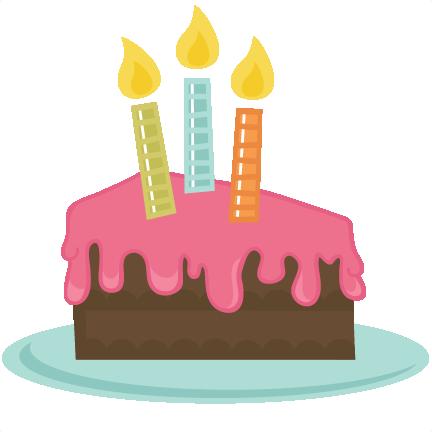 432x432 Rainbow Clipart Birthday Cake