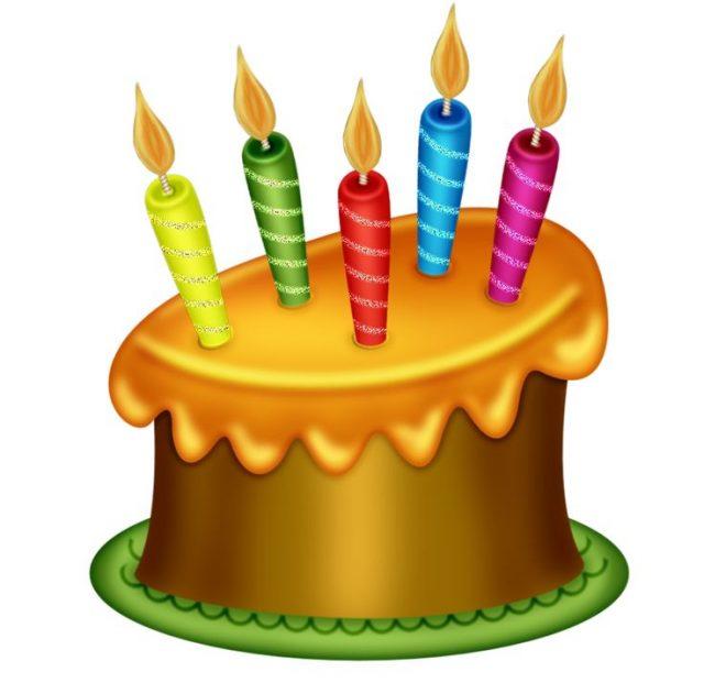 640x631 Top 20 Unique Birthday Cake Clipart