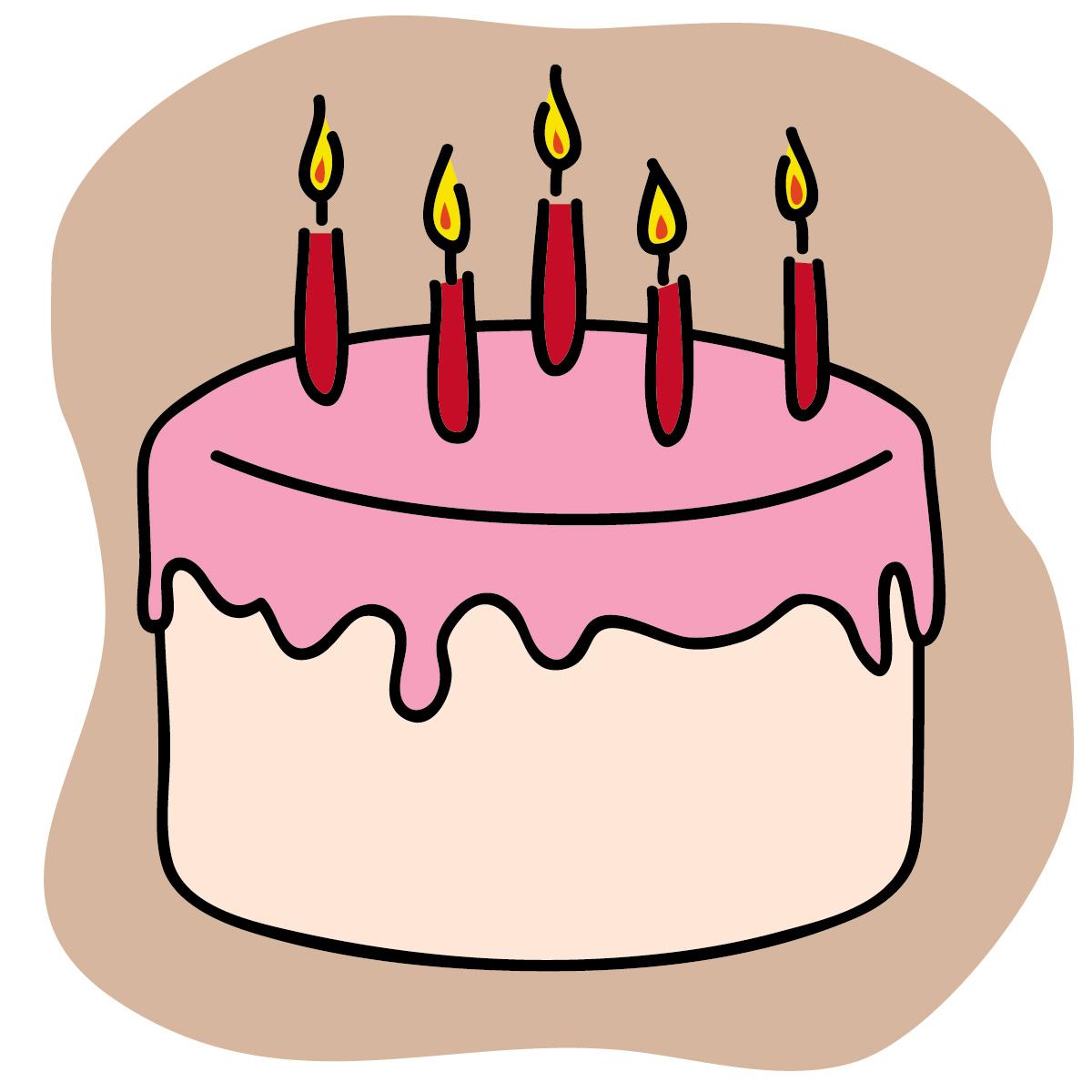 1200x1200 Birthday Cake Clipart Free