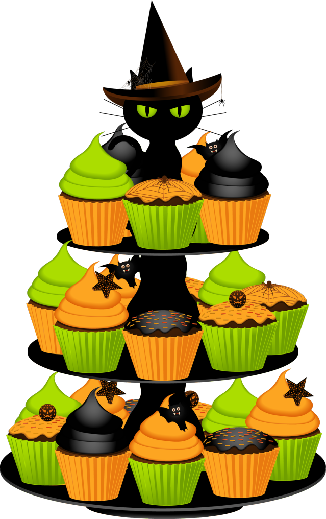 639x1016 Halloween Birthday Cake Clipart