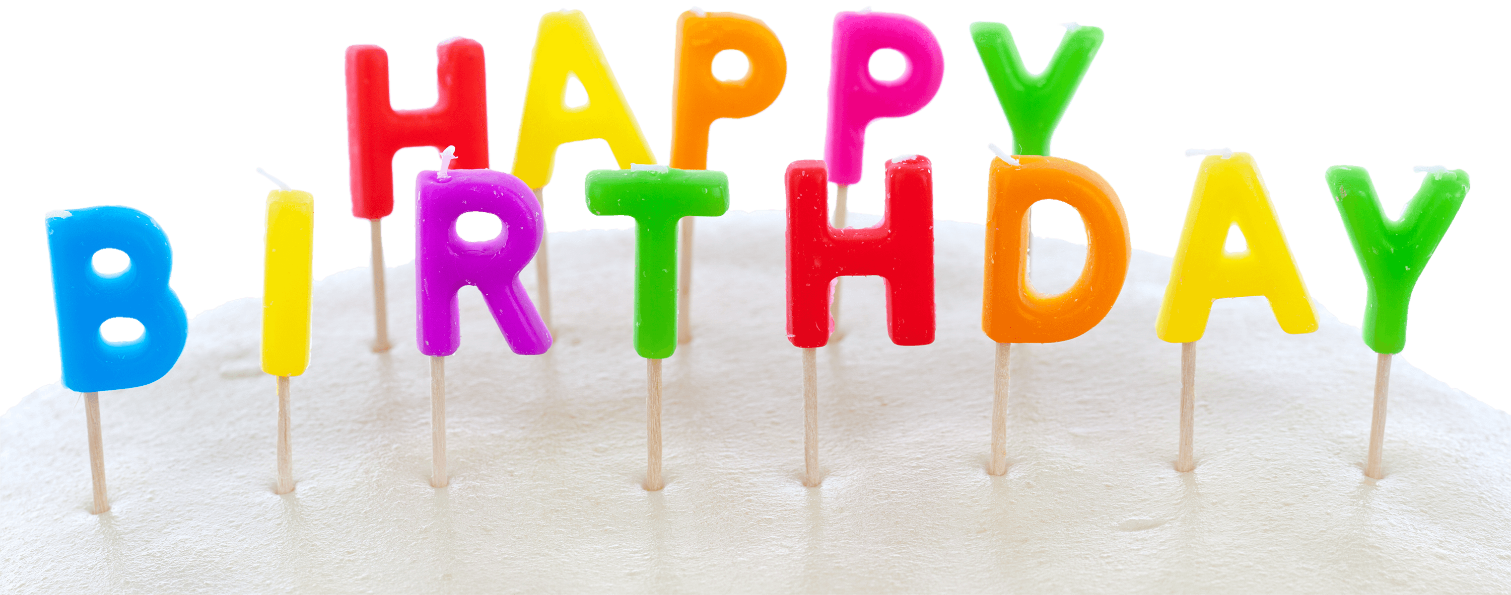 3000x1183 Happy Birthday Cake Surface Transparent Png