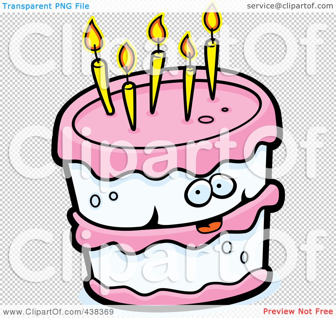 1080x1024 Royalty Free (Rf) Clipart Illustration Of A Birthday Cake