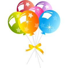 236x236 Birthday Balloons Transparent Background