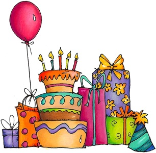 306x300 547 Best Digital 3 Images Drawings, Birthday