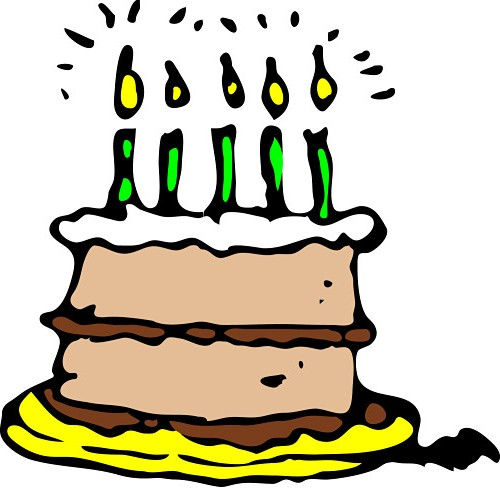 500x488 Birthday Cake Jpg Clipart