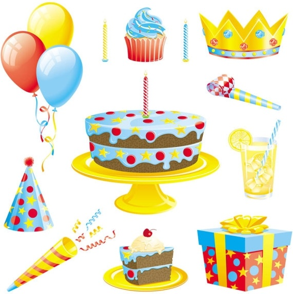 572x574 Birthday Candle Vector Free Vector Download (1,494 Free Vector