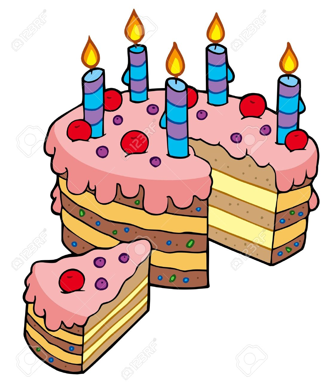 1108x1300 Images Birthday Cake On Fire Clipart