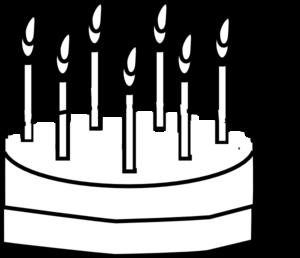 300x258 Cake Outline Clip Art