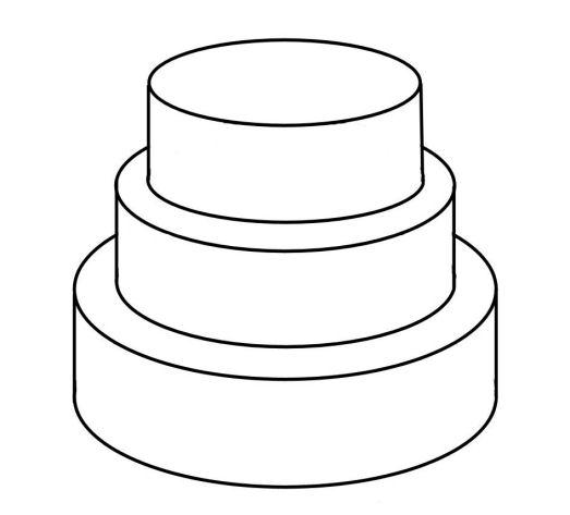 523x473 Cake Clipart Blank