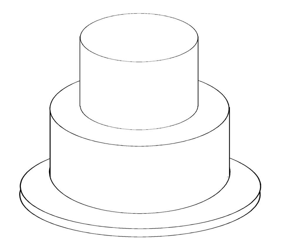 design a wedding cake template birthday cake outline free best birthday cake 13465