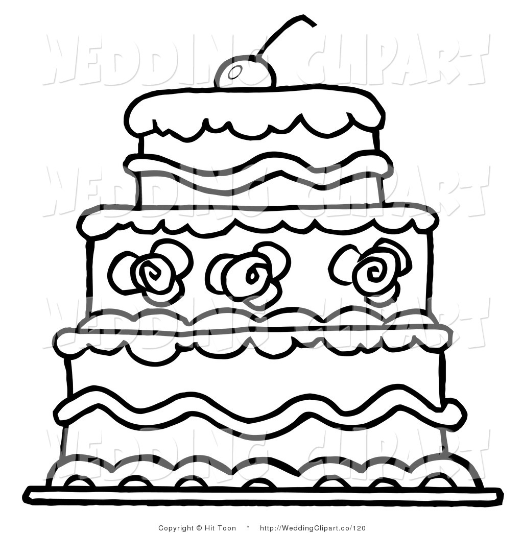 Birthday Cake Outline Free Download Best Birthday Cake Outline On