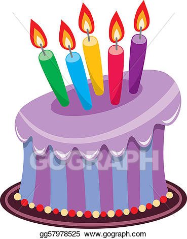 369x470 Birthday Cake Candles Clip Art