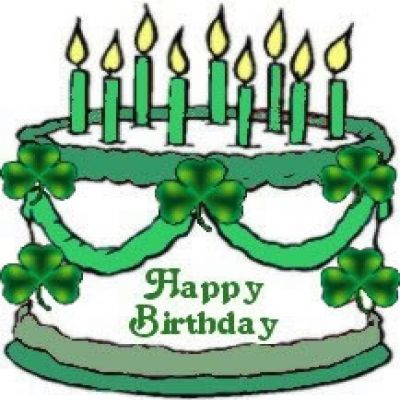 400x400 Cake Clipart St Patricks Day