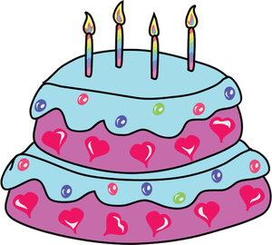 300x270 265 Birthday Cake Clip Art Vector Public Domain Vectors