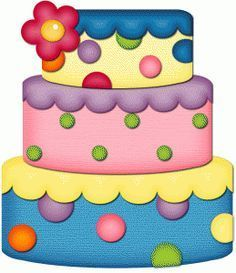 Birthday Cakes Clipart