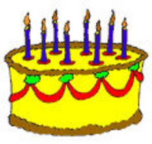 300x285 Birthday Cake Clipart Free