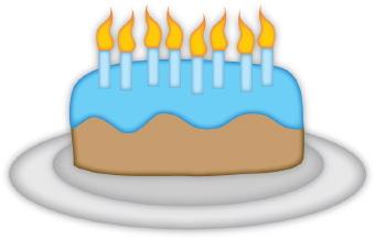340x217 Birthday Cake Boy Clipart