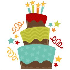 236x236 Fall Clipart Birthday Cake