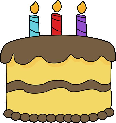 474x500 Yellow Birthday Cake Clip Art