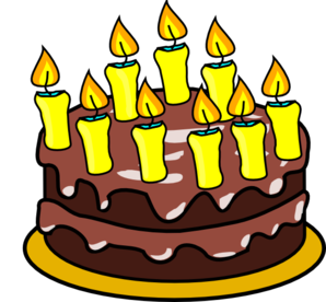 298x276 9th Birthday Cake Clip Art